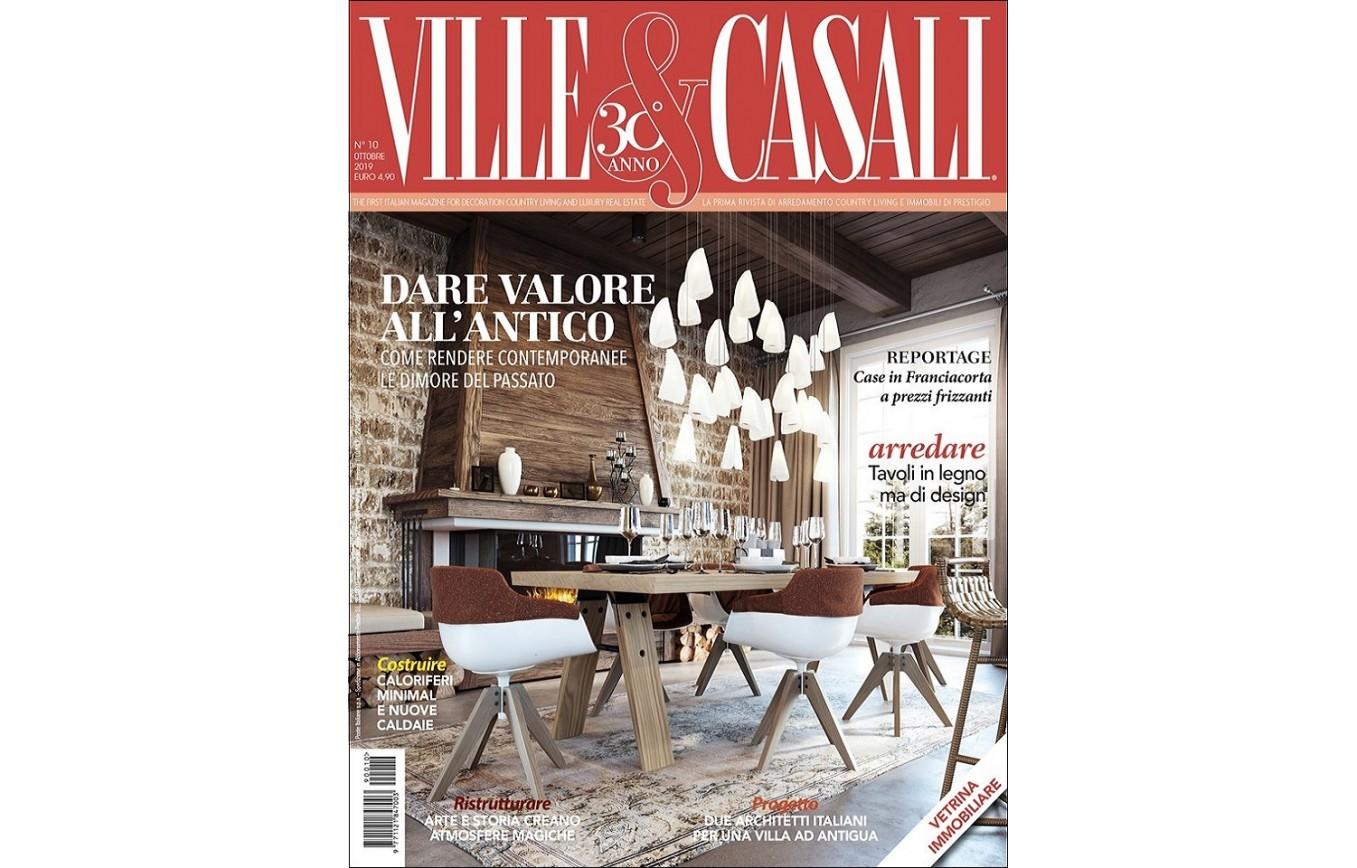 Arredamento Per Casali work published in the magazines ville & casali n. 10