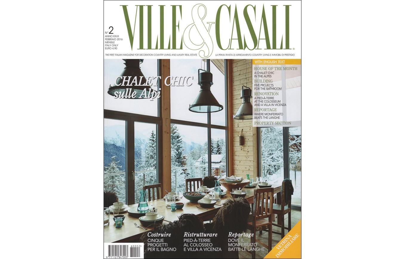 Arredamento Per Casali work published in the magazines ville & casali n. 2